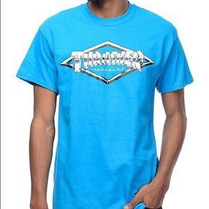 blue thrasher diamond t-shirt